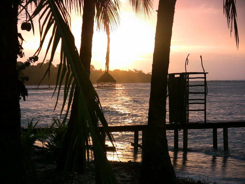 Sunrise in Bocas
