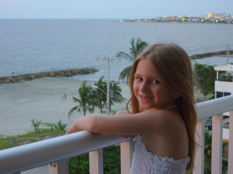 Emily in Cartagena