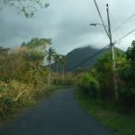 Driving to Escazu house