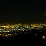 Escazu house night view
