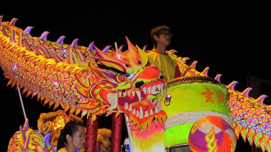 Dragon, Lion, and Indian Dances