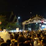 Lots of crowds at Loy Krathong