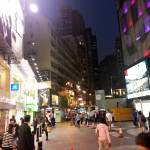 Hong Kong Night Shopping