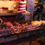 Street food in Puerto Princesa