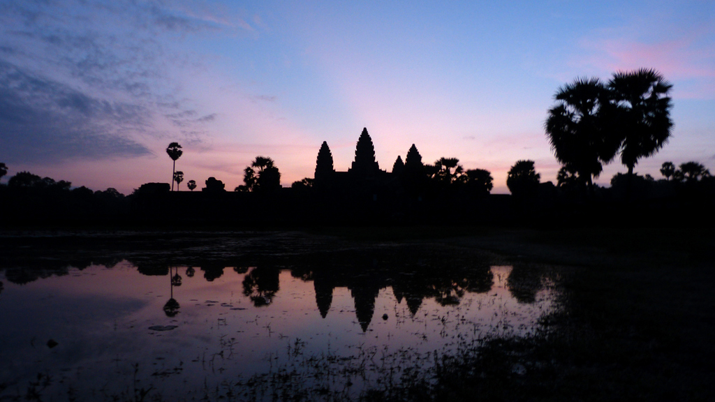 Cambodian Sunrise