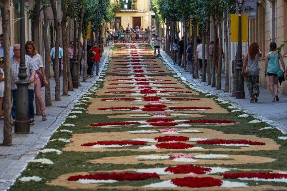 Corpus Christi festival in Sitges, near Barcelona