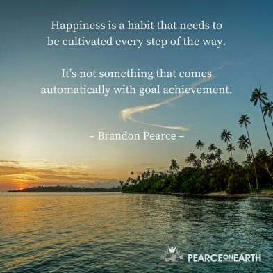 1happiness is a habit