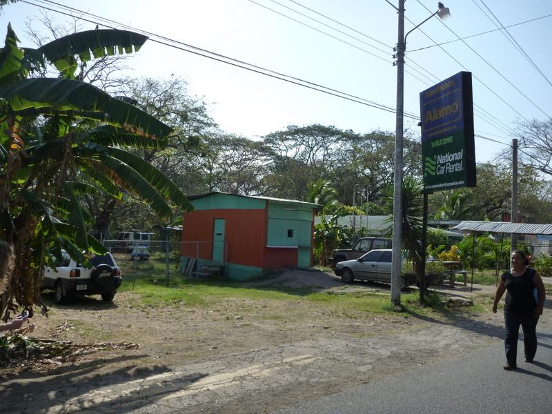 Costa Rica Nicaragua Border Rental Car