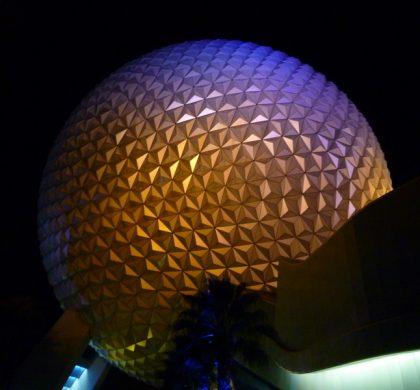 Epcot globe