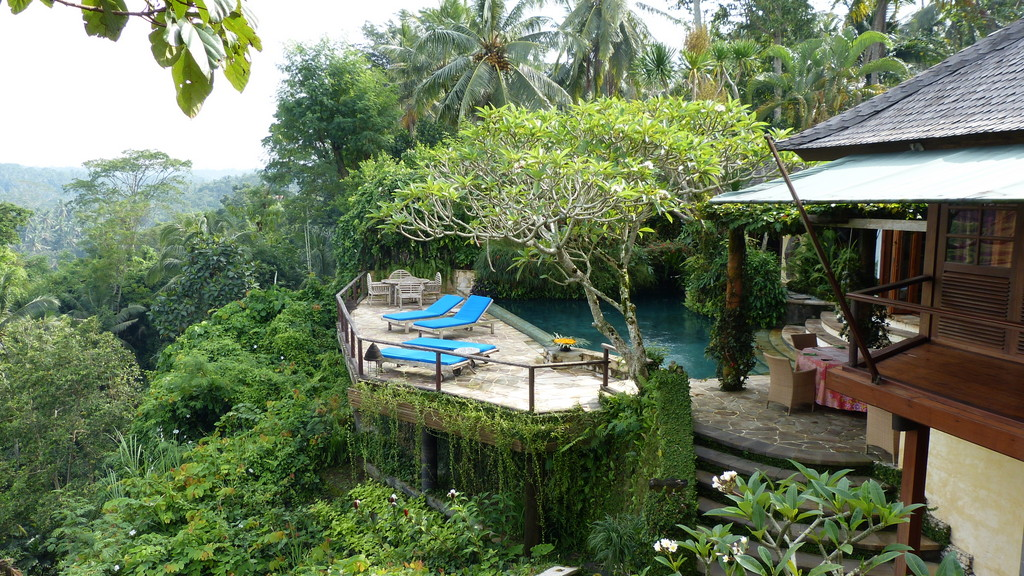 The villa we're renting in Bali