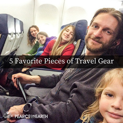 5 Favorite Pieces of Travel Gear