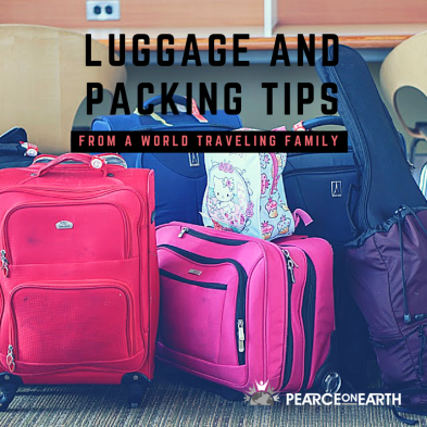Luggage and packing tips