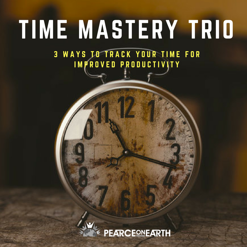 Time Mastery Trio – 3 Ways to Track Your Time for Improved Productivity
