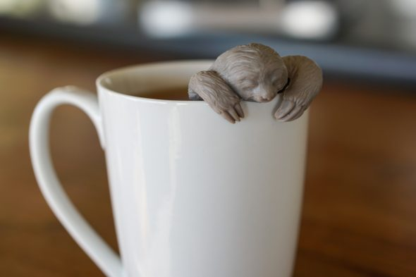 Speaking of sloths...remember my cute little tea infuser?