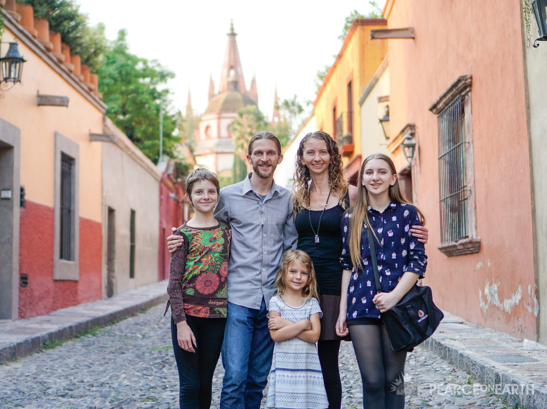 The Pearce Family has been traveling the world together for 11+ years to 45+ countries while worldschooling and running an online business.